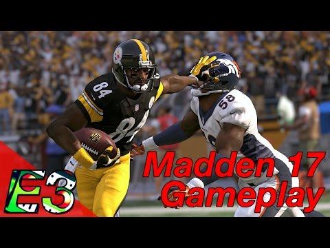 E3 2016: Madden 17 Gameplay