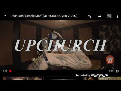 Reacting to upchurch simple man official...
