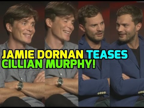 Anthropoid: Jamie Dornan teases Cilllian Murphy about the Dunkirk movie!