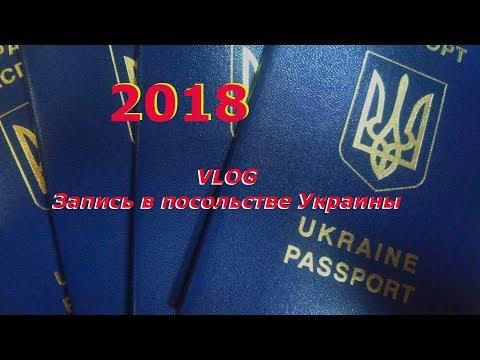 VLOG Запись в посольстве Украины