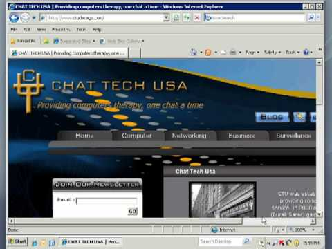 CHAT TECH USA Remote Support (Windows)