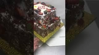 Торт ягодный прямоугольный на заказ
