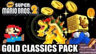 New Super Mario Bros. 2 Coin Rush Mode DLC - Gold Classics Pack