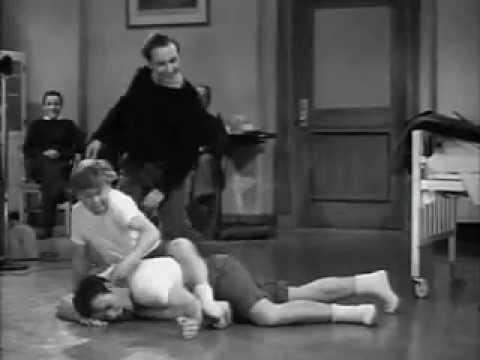 Sidney Miller Referees a Slow Motion Wrestling Match