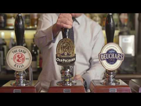 How to pull the perfect pint of cask ale