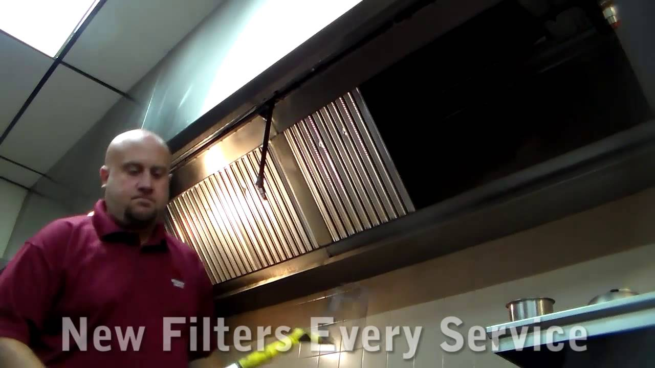 Hood Grease Filter Grease Filter Service Restaurant Hood Filters Youtube