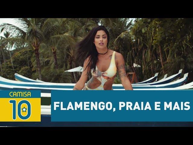 Flamengo, praia e mais – PING PAN com ALINE RISCADO!
