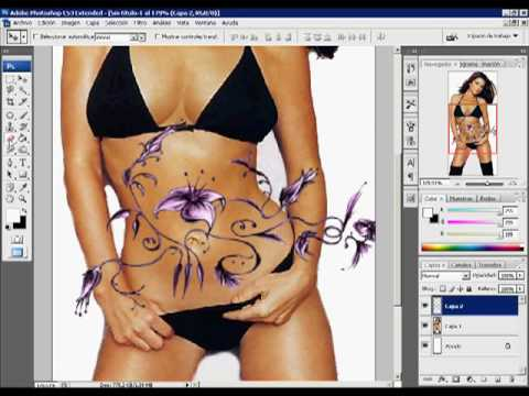 Como Crear Tatuajes Realistas En Photoshop Youtube