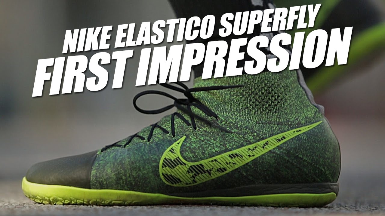 Agradecido crema Temprano  Nike Elastico Superfly IC Play Test and First Impression - YouTube