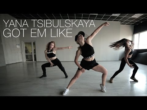 K. Michelle – Got Em Like | Jazz Funk choreography by Yana Tsibulskaya | D.side dance studio