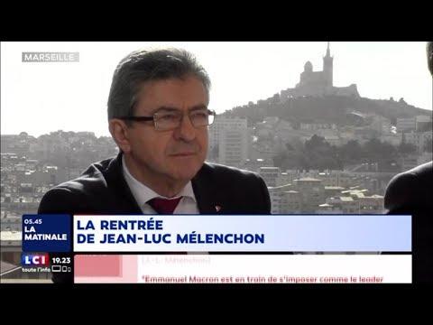 « MACRON CRÉE UN GOUFFRE SOCIAL » - Mélenchon