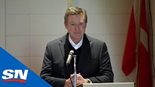 Wayne Gretzky Gives Heartfelt Speech At Walter Gretzky's Funeral