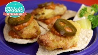 Oyster Nachos | Hilah's Texas Kitchen