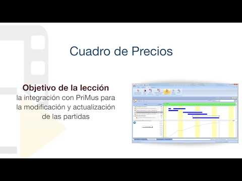 Tutorial de PriMus KRONO - Cuadro de Precios - ACCA software thumbnail