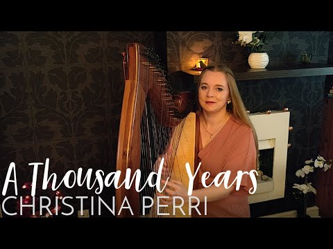 A Thousand Years - Christina Perri (Harp Cover) Nottingham Wedding Harpist