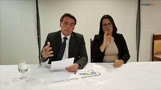 Em live, Bolsonaro insiste em 'queimadas criminosas' e critica Macron