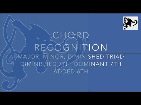 Chord Listening Exercise 1 - Prepare for SQA Higher Music