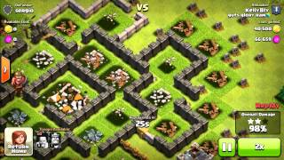 Inspired By PlayClashofClans // Quest to 4000 Trophies on Clash of Clans #1