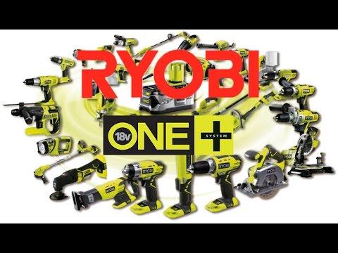 Аккумуляторный инструмент на 18 Вольт Ryobi ONE+