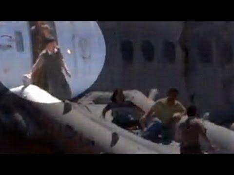 Plane Crash San Francisco Asiana Airlines: Video Shows Crash Passengers' Escape