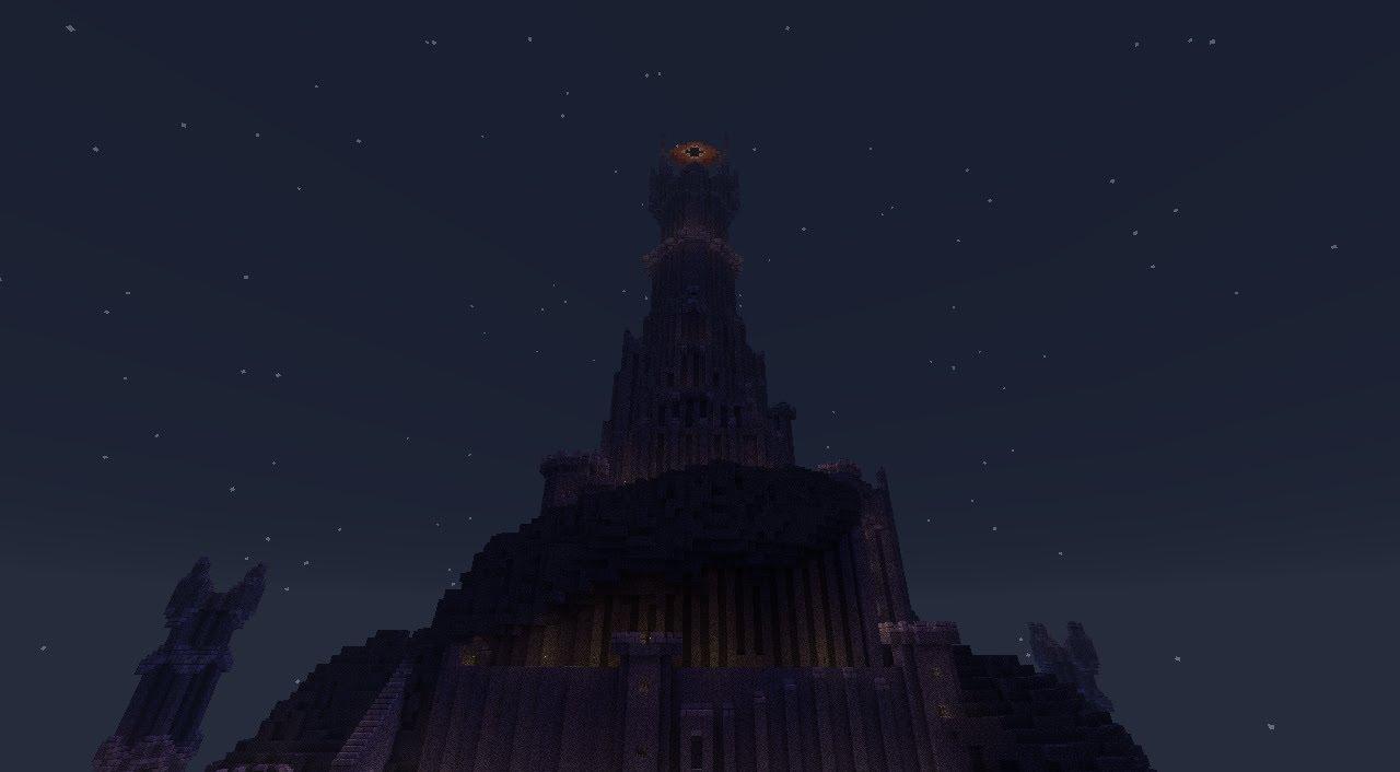 Barad-Dûr (The Dark Tower) MCPE Map - MCPE: Maps - Minecraft ...