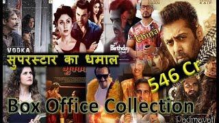 Box Office Collection Of Vodka Diaries, Kaalakaandi, Tiger Zinda Hai, 1921, Nirdosh Etc 2018