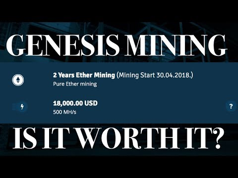 WTF | Genesis Mining 2 Years Ethereum Pre-Order Contract (Start 30.04.2018) | vs Hashflare & CCG