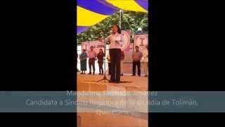 En Tolimán, Antorcha apoyará a candidato independiente. Apertura de campaña de Tolimán