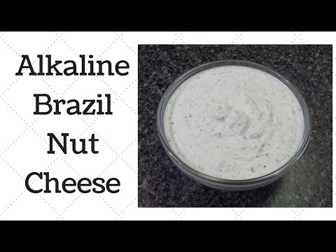 Brazil Nut Cheese Dr.Sebi Alkaline Electric Recipe