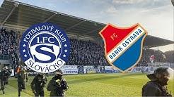 1.FC Slovacko - Banik Ostrava   Chachaři   Ultras Banik Ostrava   Slovacko Fans