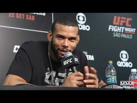 UFC Sao Paulo: Thiago Santos Post-Fight Press Conference - MMA Fighting