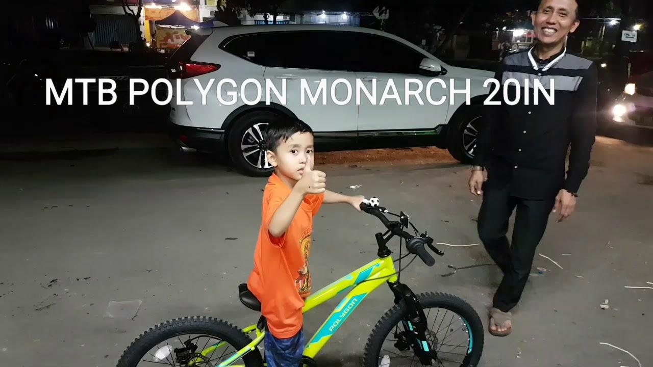 Sepeda Mtb Polygon Monarch roda 20 inch ⭐⭐⭐⭐⭐ - YouTube