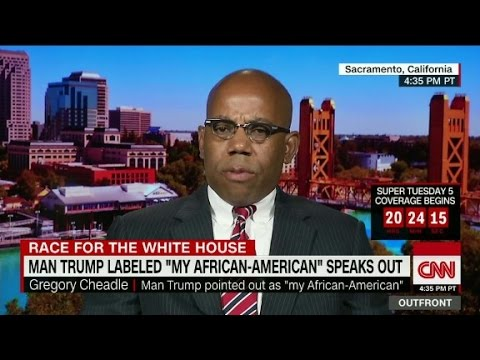 The man Trump called 'my African-American' spea...