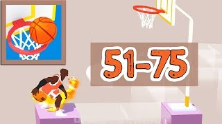 Perfect Dunk 3D Game Walkthrough Level 51 - 75