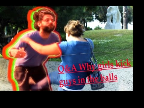 why girls kick balls