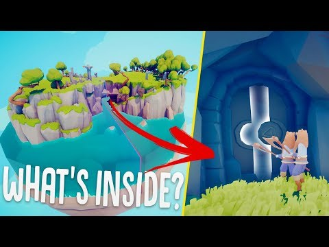 I Found A Way Through The Secret TABS Door - What's Inside? - Totally Accurate Battle Simulator