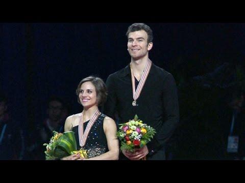 Skaters Duhamel and Radford win gold at Shanghai