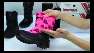 видео Детская зимняя обувь Viking (Викинг)