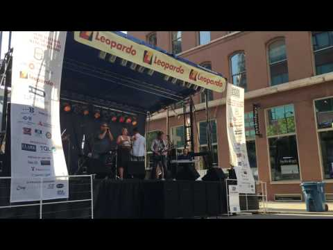 Clark Street block party benefiting the USO