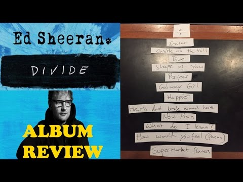 Ed Sheeran |  ÷ Divide (2017) | Album Review | ChartExpress