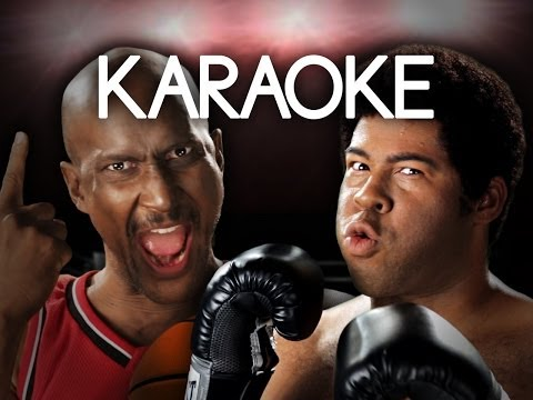 [KARAOKE ♫] Michael Jordan vs Muhammad Ali. Epic Rap Battles of History. [INSTRUMENTAL]