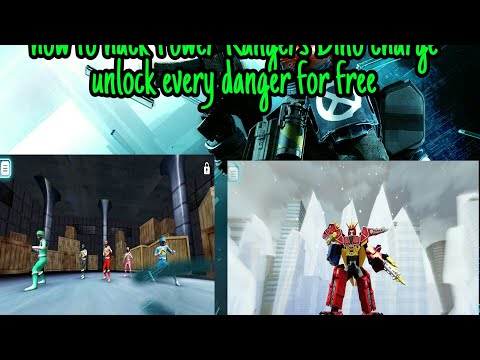 How To Hack Power Rangers Dino Charge Game || Unlock All Rangers| For All Device