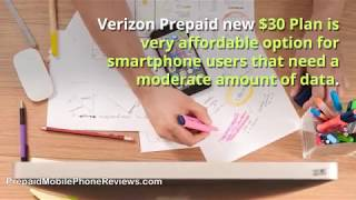 Verizon Prepaid new $30 Plan available from February 20