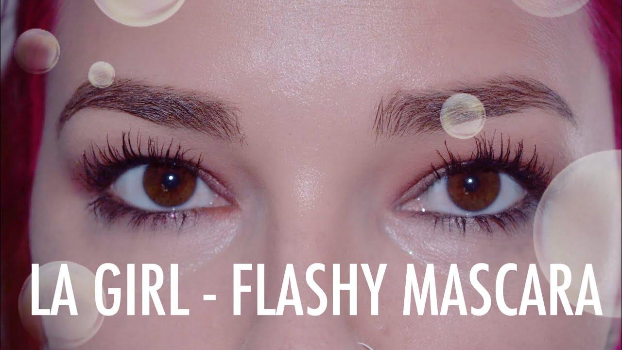 7bed79c0a0d BETTER THAN ROLLERLASH?? LA Girl Flashy Mascara   Cerise1307   - YouTube