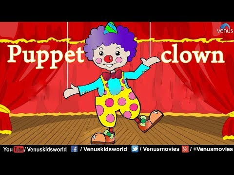 Puppet clown ~ Popular Rhyme for Kids
