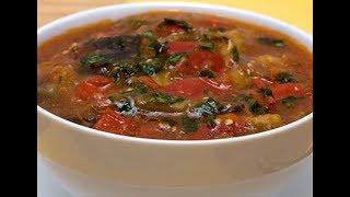 Как приготовить вкусный суп с баклажанами? Готовим первые блюда пошагово. Рецепт супа.(, 2019-03-14T17:28:33.000Z)