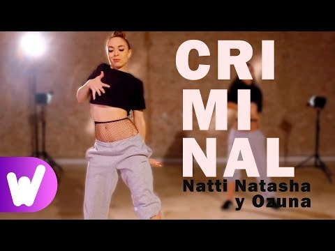 Criminal – Natti Natasha y Ozuna | COREOGRAFÍA PASO A PASO