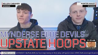 Mynderse Blue Devils in-studio .::. Upstate Hoops Podcast 1/7/18 thumbnail