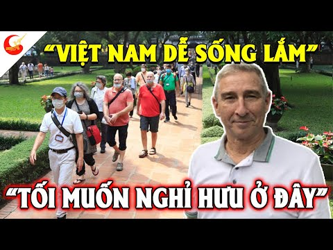 Người Mỹ Ùn Ùn Muốn Kéo Sang Việt Nam Định Cư Nghỉ Hưu Vì Cuộc Sống Ở Việt Nam Thoải Mái Hơn Nhiều