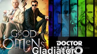 Doctor Who And Good Omens Gladiator